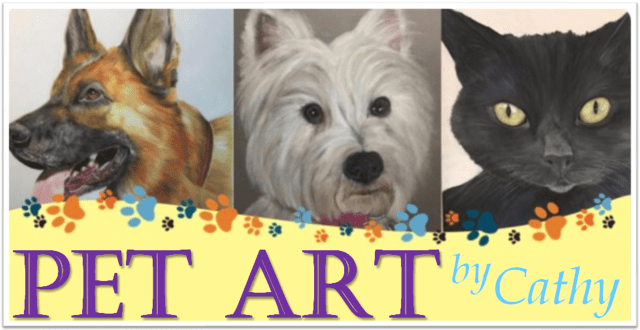 Pet Art by Cathy Edwards