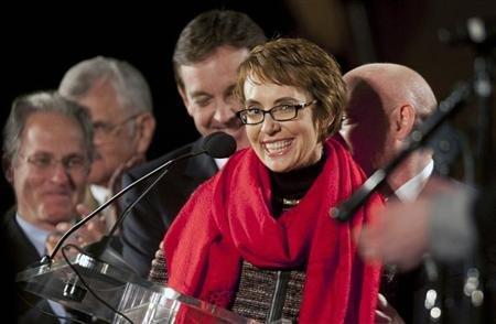 Rep. Gabrielle Gifford (REUTERS/Laura Segall)