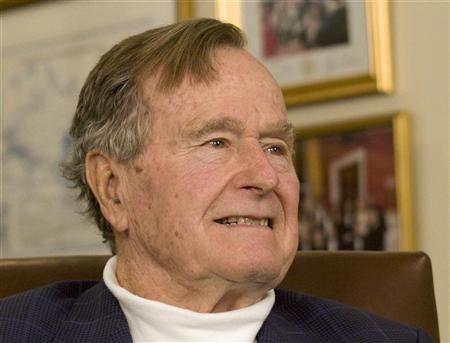 Former President George H.W. Bush(REUTERS/Donna Carson)