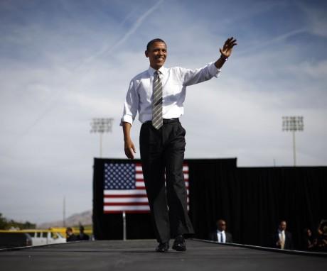 President Barack Obama in Wyoming (AP)