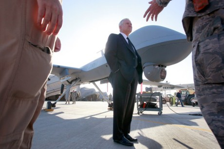 Defense Secretary Robert Gaes (AP Photo/Scott Olson, Pool)
