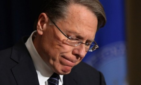 Embattled NRA leader Wayne LaPierre (Getty)