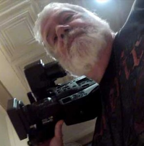 Doug Thompson: On the job filming for a local TV station