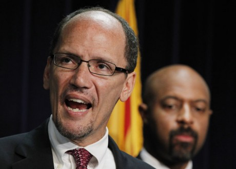 United States Assistant Attorney General Thomas Perez,. (AP Photo/Ross D. Franklin, File)