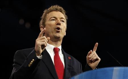 Senator Rand Paul ( REUTERS/Kevin Lamarque)