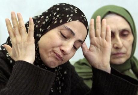 Zubeidat Tsarnaeva, mother of the Boston Marathon bombing suspects.  (AP Photo/Musa Sadulayev, File)