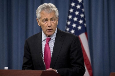 Defense Secretary Chuck Hagel (AP Photo/Evan Vucci, File)
