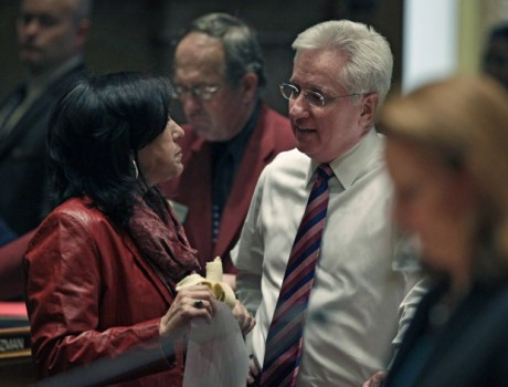 Colorado Senate President John Morse. (AP Photo/Brennan Linsley)