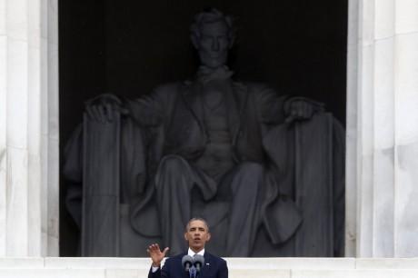 President Barack Obama speaks )AP)