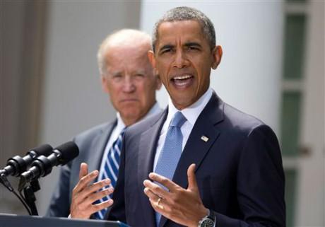 President Barack Obama and Vice President Joe Biden (AP)