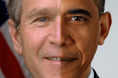 Barack Obama's two faces
