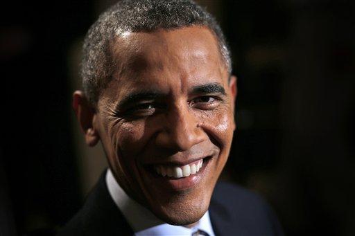 In this photo taken President Barack Obama.  (AP Photo/Charles Dharapak)