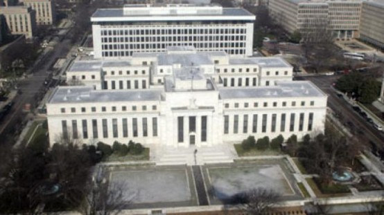 Federal Reserve headquarters.