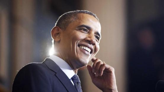 President Barack Obama: A reason to smile? (AP/Charles Dharapak)