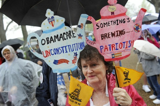 Today's tea party: More craziness, less results.