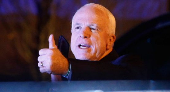 Sen. John McCain: 'Way to go France!'