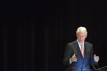 Former U.S. President Bill Clinton. (REUTERS/Andrew Kelly)
