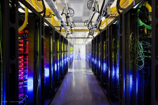 Google data center in Council Buff, Iowa.