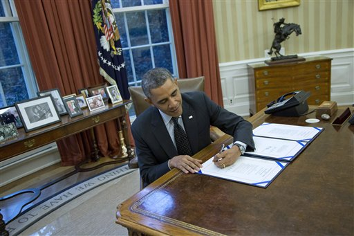 President Barack Obama. (AP Photo/ Evan Vucci)