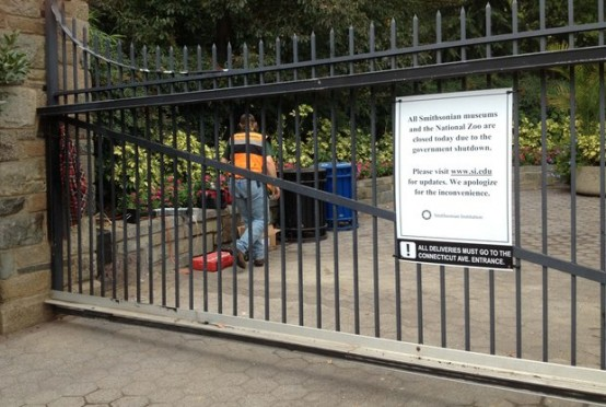 Closing of the National Zoo in October 2012: Can this be prevented again? (McClatchy/Tish Wells)