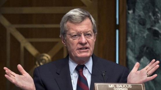 Senate Finance Committee Chairman Sen. Max Baucus, D-Mont. (AP Photo/J. Scott Applewhite, File)