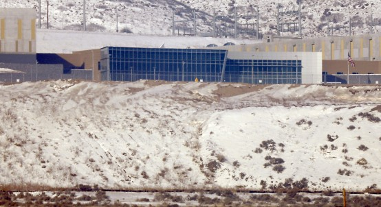 A National Security Agency data gathering facility is seen in Bluffdale, about 25 miles south of Salt Lake City, Utah. (REUTERS/Jim Urquhart)