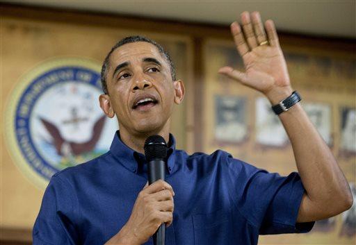 President Barack Obama.  (AP Photo/Carolyn Kaster)