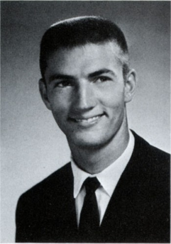 Phil Robertson as a sophomore at Louisiana Tech.