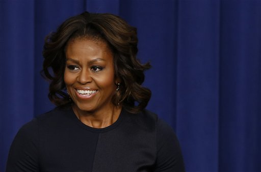 First lady Michelle Obama.  (AP Photo/Charles Dharapak)