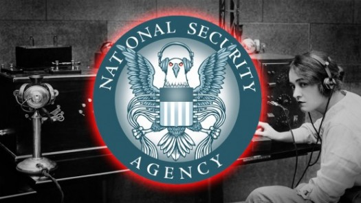 The NSA: They spy because they can.