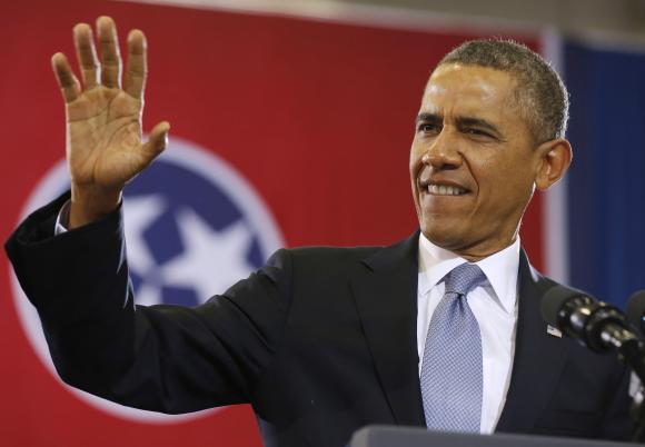 President Barack Obama.   (REUTERS/Larry Downing )