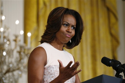 First lady Michelle Obama (AP Photo/Charles Dharapak)
