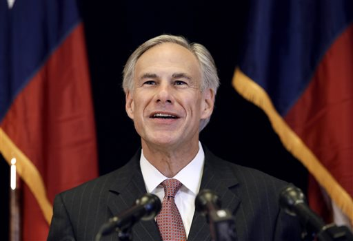 Republican candidate for governor, Texas Attorney General Greg Abbott  (AP Photo/Tony Gutierrez)