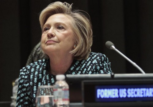 Former United States Secretary of State Hillary Rodham Clinton.  (AP Photo/Bebeto Matthews)