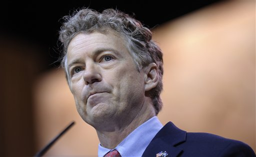Sen. Rand Paul, R-Ky. at CPAC. (AP Photo/Susan Walsh)