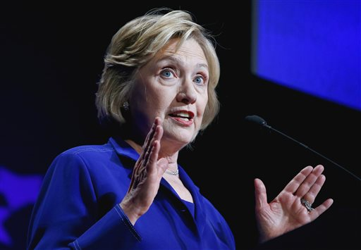 Former Secretary of State Hillary Rodham Clinton   (AP Photo/Ross D. Franklin)