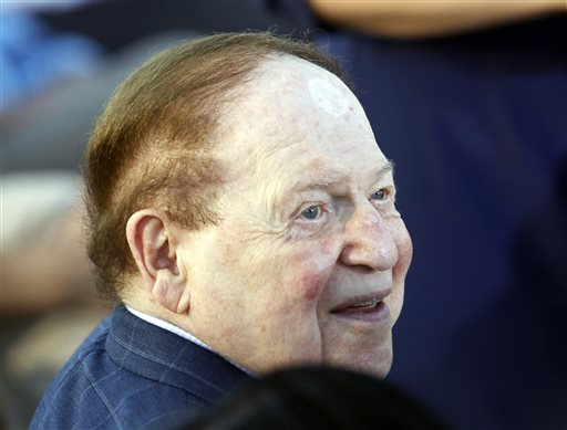 American businessman Sheldon Adelson (AP Photo/Charles Dharapak)