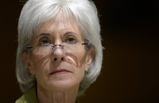 Health and Human Services Secretary Kathleen Sebelius.  (AP Photo/Susan Walsh)