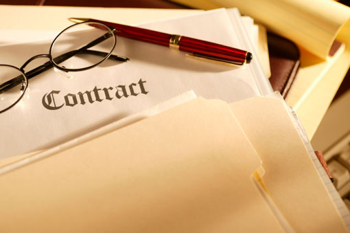 Contracts? We don't need no stinkin' contracts.