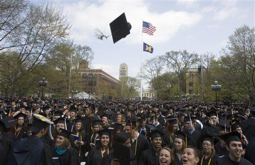 Graduation Day (AP Photo/Tony Ding)