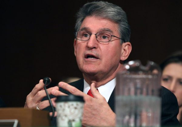 Sen. Joe Manchin, D-W.Va.   (AP Photo/Lauren Victoria Burke)