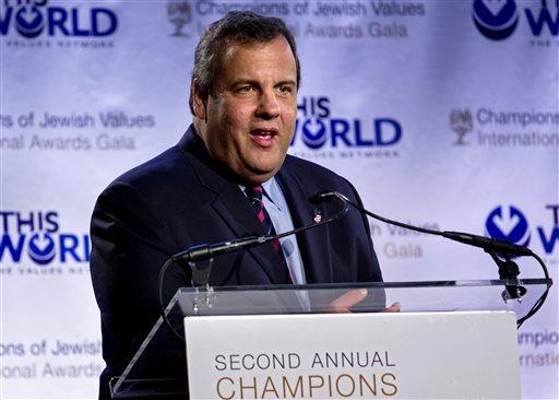 New Jersey Gov. Chris Christie (AP)