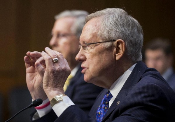 Senate Majority Leader Harry Reid (AP Photo/Manuel Balce Ceneta)
