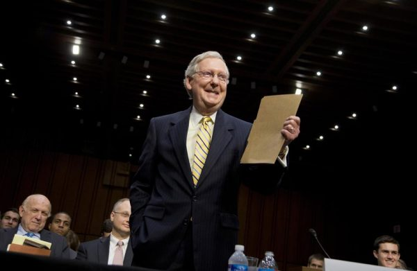 Senate Minority Leader Sen. Mitch McConnell  (AP Photo/Manuel Balce Ceneta)