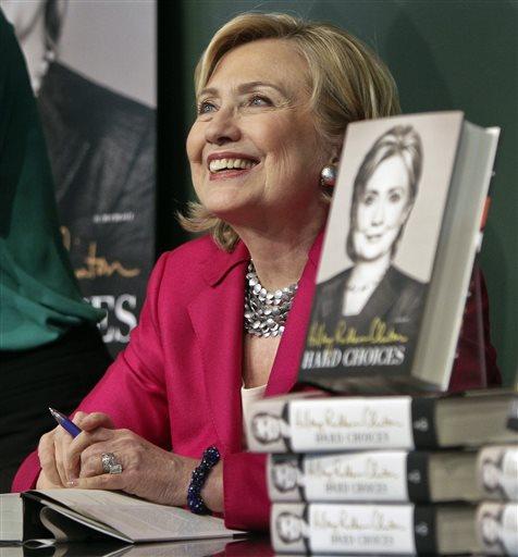 HiIlary Rodham Clinton  (AP Photo/Bebeto Matthews)