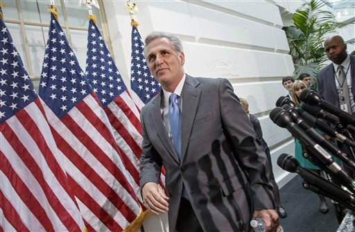 House Majority Whip Kevin McCarthy of Calif. (AP Photo/J. Scott Applewhite)