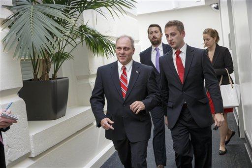 Rep. Steve Scalise, R-La., the new House GOP whip (AP Photo/J. Scott Applewhite)