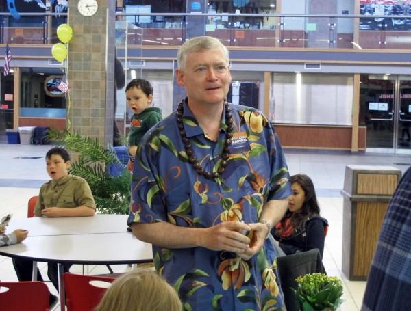 Alaska Republican U.S. Senate candidate Mead Treadwell  (AP Photo/Becky Bohrer)