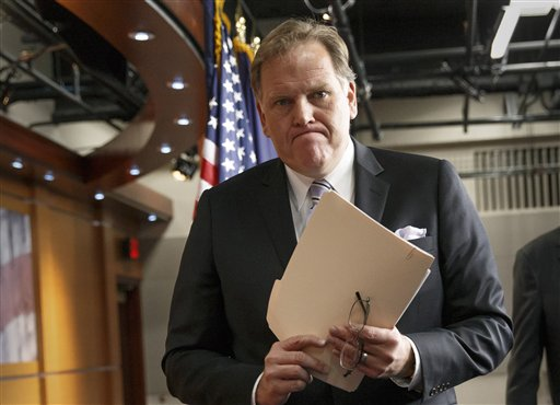 House Intelligence Committee Chairman Mike Rogers, R-Mich.  (AP Photo/J. Scott Applewhite)