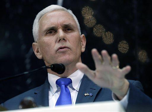 Indiana Gov. Mike Pence (AP Photo/Darron Cummings)